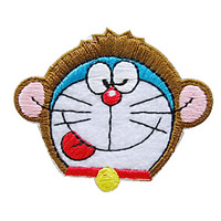 Cloth Iron-on Patches, Cartoon, 58x48mm, Sold By PC
