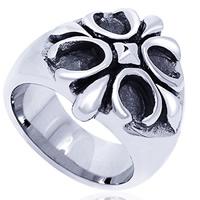 Edelstahl Herren-Fingerring, verschiedene Größen vorhanden & Schwärzen, 8.5-19.5mm, 5PCs/Menge, verkauft von Menge