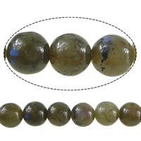 Labradorit Perlen, rund, 6mm, Bohrung:ca. 0.8mm, Länge:ca. 15 ZollInch, 10SträngeStrang/Menge, ca. 60PCs/Strang, verkauft von Menge