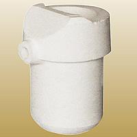 Quarz Schmelztiegel, weiß, 59x87mm, 2PCs/Menge, verkauft von Menge