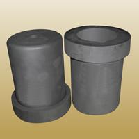 Graphit Schmelztiegel, schwarz, 57x125.90mm, 2PCs/Menge, verkauft von Menge