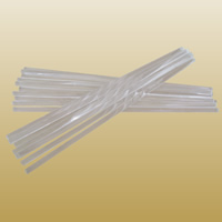 Quarz Glasstab, klar, 10x400mm, 6PCs/Menge, verkauft von Menge