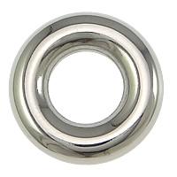 Edelstahl Verbindungsring, Kreisring, originale Farbe, 15x4mm, 100PCs/Menge, verkauft von Menge