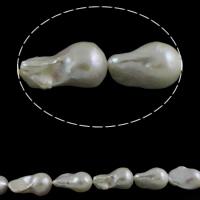 kultivierte Süßwasser kernhaltige Perlen Perle, Keishi, natürlich, weiß, Grad AAA, 13-15mm, Bohrung:ca. 0.8mm, verkauft per ca. 15.7 ZollInch Strang
