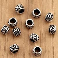 Bali Sterling Silber Perlen, Thailand, Rondell, 4.7x3.6mm, Bohrung:ca. 2.5mm, 30PCs/Tasche, verkauft von Tasche