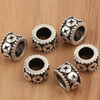 Thailand European Perlen, Rondell, ohne troll, 7x4.8mm, Bohrung:ca. 4.5mm, 10PCs/Tasche, verkauft von Tasche