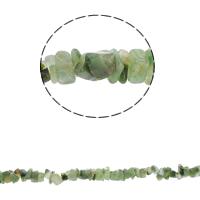 Natürliche Moos Achat Perlen, Bruchstück, 5-8mm, Bohrung:ca. 0.8mm, ca. 260PCs/Strang, verkauft per ca. 34.6 ZollInch Strang