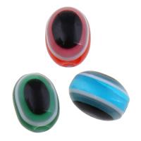 Harz Evil Eye Perlen, blöser Blick, verschiedene Größen vorhanden, keine, Bohrung:ca. 1-2mm, 2Taschen/Menge, 1000PCs/Tasche, verkauft von Menge