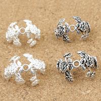 925 Sterling Silber Perlenkappe, plattiert, verschiedene Größen vorhanden, keine, verkauft von Menge