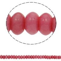 Rhodonit Perlen, Rondell, natürlich, 10x6mm, Bohrung:ca. 1.5mm, ca. 65PCs/Strang, verkauft per ca. 15.7 ZollInch Strang