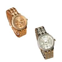 Damen Armbanduhr, Edelstahl, mit Glas, plattiert, für Frau & mit Strass, keine, 38x7mm, 14mm, Länge:ca. 8.7 ZollInch, verkauft von PC