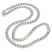 Halskette, Edelstahl, verschiedene Größen vorhanden & Twist oval, originale Farbe, verkauft per ca. 23.5 ZollInch Strang