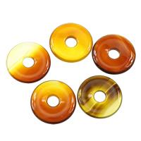 Natürlich rote Achat Perlen, Roter Achat, flache Runde, 25x4mm, Bohrung:ca. 6mm, 10PCs/Menge, verkauft von Menge