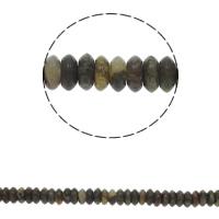 Natürliche verrückte Achat Perlen, Verrückter Achat, flache Runde, 6.5x3mm, Bohrung:ca. 1.5mm, ca. 134PCs/Strang, verkauft per ca. 15.7 ZollInch Strang
