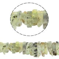 Natürliche Moos Achat Perlen, 20x11x7mm-48x12x7mm, Bohrung:ca. 1mm, ca. 38PCs/Strang, verkauft per ca. 16 ZollInch Strang