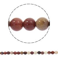 Dotter Stein Perlen, rund, synthetisch, verschiedene Größen vorhanden, Bohrung:ca. 1mm, verkauft per ca. 15 ZollInch Strang