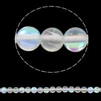 Labradorit Perlen, rund, synthetisch, verschiedene Größen vorhanden, Bohrung:ca. 1mm, verkauft per ca. 15 ZollInch Strang