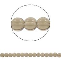 Runde Kristallperlen, Kristall, verschiedene Größen vorhanden, Bohrung:ca. 1mm, verkauft per ca. 15 ZollInch Strang