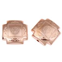Acryl Schmuck Perlen, Kreuz, originale Farbe, 16x7mm, Bohrung:ca. 1mm, ca. 310PCs/Tasche, verkauft von Tasche