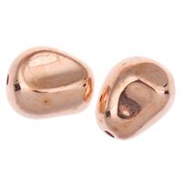 Acryl Schmuck Perlen, Klumpen, originale Farbe, 15x12x10mm, Bohrung:ca. 1mm, ca. 355PCs/Tasche, verkauft von Tasche