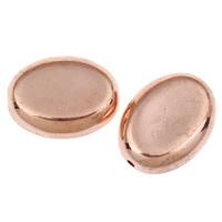 Acryl Schmuck Perlen, flachoval, originale Farbe, 18x13x6mm, Bohrung:ca. 1mm, ca. 380PCs/Tasche, verkauft von Tasche