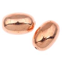 Acryl Schmuck Perlen, oval, verschiedene Größen vorhanden, originale Farbe, Bohrung:ca. 1mm, verkauft von Tasche