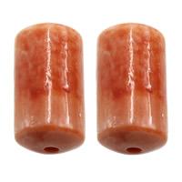 Riesenmuscheln Perlen, Riesenmuschel, Zylinder, 9.50x17.50x9.50mm, Bohrung:ca. 2mm, 20PCs/Menge, verkauft von Menge