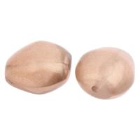 Imitation Acryl-Perlen, Acryl, Nachahmung Perle, Kaffeefarbe, 15x14x11mm, Bohrung:ca. 1mm, 2Taschen/Menge, ca. 300PCs/Tasche, verkauft von Menge