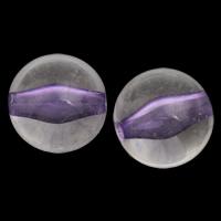 Perlen in Perlen Acrylperlen, Acryl, rund, violett, 16mm, Bohrung:ca. 3mm, 2Taschen/Menge, ca. 150PCs/Tasche, verkauft von Menge