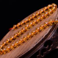 Natürlicher Citrin Perlen, Gelbquarz Perlen, rund, 64-Seiten & November Birthstone & verschiedene Größen vorhanden & facettierte, Grade AAAAAA, Bohrung:ca. 1mm, verkauft per ca. 15.5 ZollInch Strang