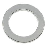 Edelstahl Verbindungsring, Kreisring, originale Farbe, 23x2mm, Bohrung:ca. 15.5mm, 100PCs/Tasche, verkauft von Tasche