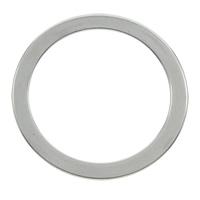 Edelstahl Verbindungsring, Kreisring, originale Farbe, 28x1mm, Bohrung:ca. 25mm, 100PCs/Tasche, verkauft von Tasche
