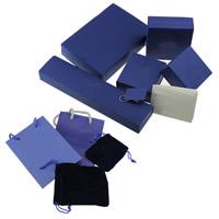 Karton Schmuckset Kasten, mit Nylonschnur, verschiedene Stile für Wahl & Silberdruck, verkauft von PC
