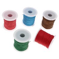 Wachsschnur, Gewachsten Baumwollkordel, mit Kunststoffspule, keine, 1mm, ca. 100WerftenHof/Spule, verkauft von Spule