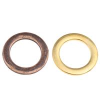 Zinklegierung Verbindungsring, Kreisring, plattiert, keine, frei von Blei & Kadmium, 24x2mm, Bohrung:ca. 16mm, ca. 33PCs/Tasche, verkauft von Tasche