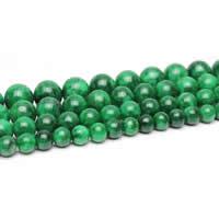 Jadeit Perlen, rund, Bohrung:ca. 1-2mm, Länge:ca. 15 ZollInch, verkauft von Menge