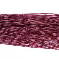 Natürlicher Granat Perlen, rund, Januar Birthstone & verschiedene Größen vorhanden, Bohrung:ca. 0.5mm, Länge:ca. 15.5 ZollInch, verkauft von Menge