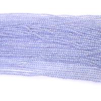 Natürliche violette Achat Perlen, Violetter Achat, rund, verschiedene Größen vorhanden, Bohrung:ca. 0.5mm, Länge:ca. 16 ZollInch, verkauft von Menge