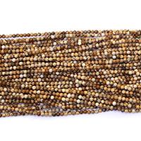 Bild Jaspis Perlen, rund, natürlich, verschiedene Größen vorhanden, Bohrung:ca. 0.5mm, Länge:ca. 16.5 ZollInch, verkauft von Menge