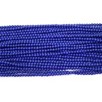 Synthetischer Lapislazuli Perlen, rund, verschiedene Größen vorhanden, Bohrung:ca. 0.5mm, Länge:ca. 16 ZollInch, verkauft von Menge