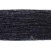 Blaue Goldstein Perlen, blauer Goldsand, rund, natürlich, verschiedene Größen vorhanden & facettierte, Länge:ca. 16 ZollInch, verkauft von Menge