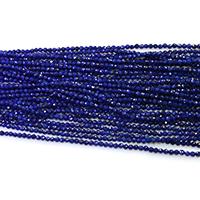 Lapislazuli Perlen, natürlicher Lapislazuli, rund, verschiedene Größen vorhanden & facettierte, Grade A, Länge:ca. 16 ZollInch, verkauft von Menge
