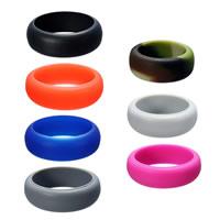 Unisex-Finger-Ring, Silikon, verschiedene Größen vorhanden, keine, 8mm, verkauft von PC