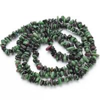 Unakit Perlen, Unakite, Klumpen, 5-8mm, Bohrung:ca. 1.5mm, ca. 120PCs/Strang, verkauft per ca. 31 ZollInch Strang