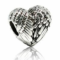 Zink Legierung Europa Perlen, Zinklegierung, Herz, antik silberfarben plattiert, ohne troll, frei von Blei & Kadmium, 12x12mm, Bohrung:ca. 4-4.5mm, verkauft von PC