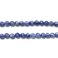 Sodalith Perlen, Sosalith, natürlich, verschiedene Größen vorhanden & facettierte, Bohrung:ca. 0.5-1.5mm, Länge:ca. 15.5 ZollInch, verkauft von Menge
