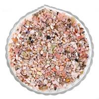 Rhodonit Perlen, Klumpen, kein Loch, 7-11mm, 50G/Tasche, verkauft von Tasche