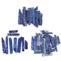 Synthetischer Lapislazuli Perlen, Klumpen, kein Loch, 15-25mm, 50G/Tasche, verkauft von Tasche