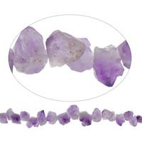 Natürliche Amethyst Perlen, Februar Birthstone, 6x9x7-19x15x11mm, 43PCs/Strang, verkauft per ca. 20 ZollInch Strang