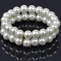 ABS-Kunststoff-Perlen Armband, rund, für Frau, 70mm, verkauft per ca. 8.5 ZollInch Strang